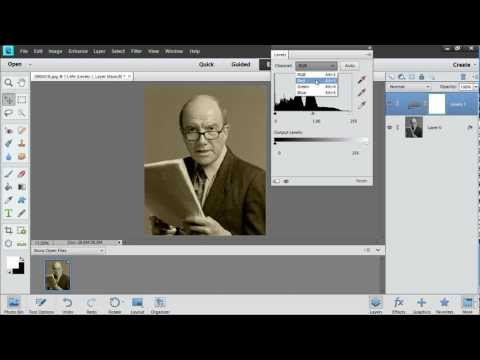 How to Create Sepia Effect in Photoshop Elements