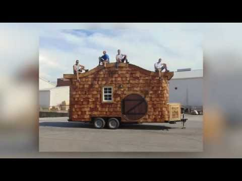 Incredible Tiny Homes:  The Hobbit House On Wheels