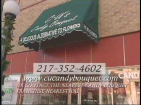 CUCandyBouquet.com ~ Christmas Candy Bouquet & Gift Baskets ~ Candy Bar Bouquets