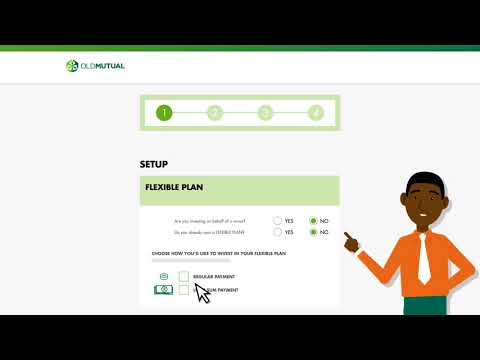 Flexible Plan - How to Apply Online - Old Mutual