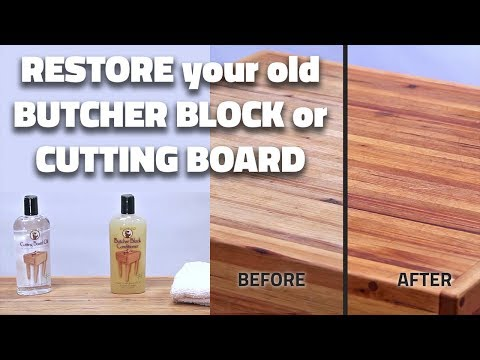 How to Restore your Cutting Board or Butcher Block (Quick Tips from Tiff #5)