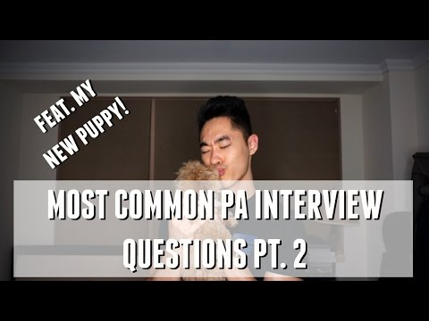 PA School Interview Tips | Most Common Questions - Part 2!