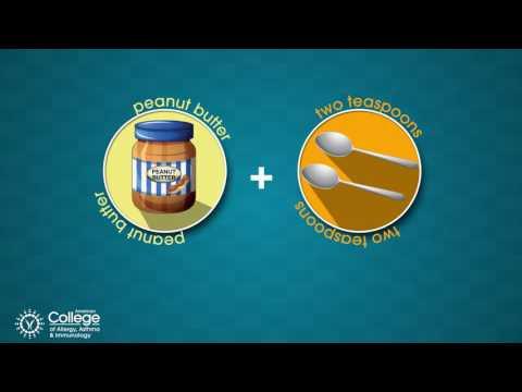 Introducing peanut-containing foods to prevent peanut allergy