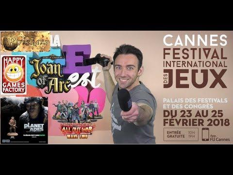 FWS - VLOG Festival international des jeux de Cannes (Confrontation, Solomon Kane....)