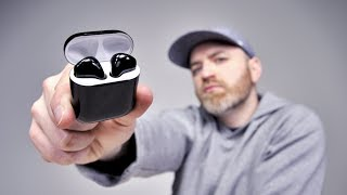 Black Apple AirPods 2 FINALLY!