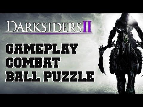 COTV - Darksiders 2 COMBAT & BALL PUZZLE Gameplay