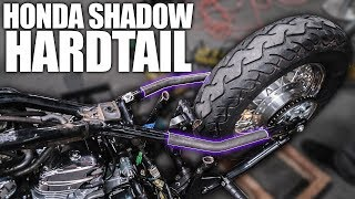 Disassembly & Design - Honda Shadow Bobber Build | Ep  1 - The Most