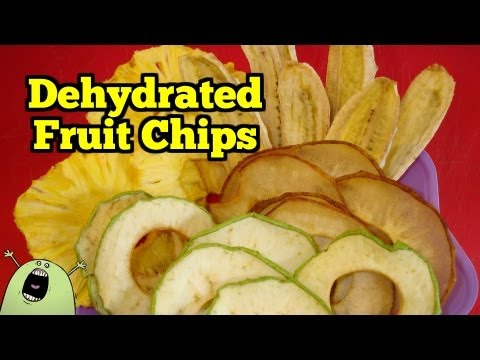 Natural Fruit Chips in an Excalibur Dehydrator