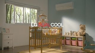 LG DUAL COOL - 2017 Split-Type Air Conditioner with Mosquito Away Technology