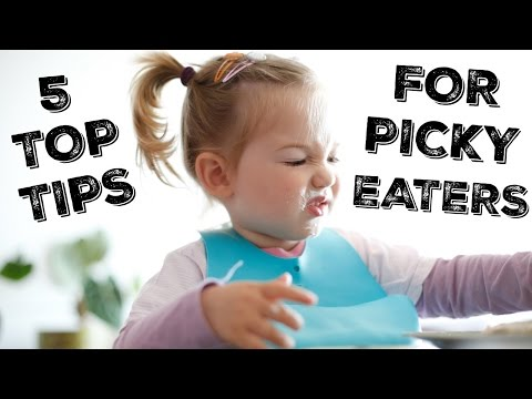 Top Tips for Dealing with Picky Eaters | My Fussy Eater
