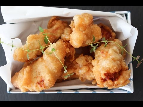 How To Make Beer Battered Chicken - By One Kitchen Episode 85