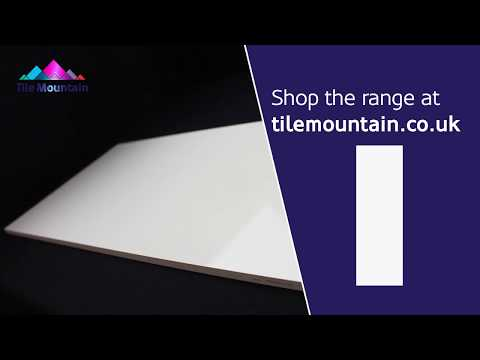 Quick Look: Olympus White Gloss Wall Tile (443265) - Tile Mountain