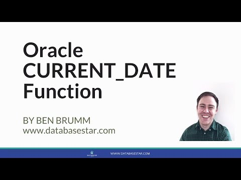Oracle CURRENT_DATE Function