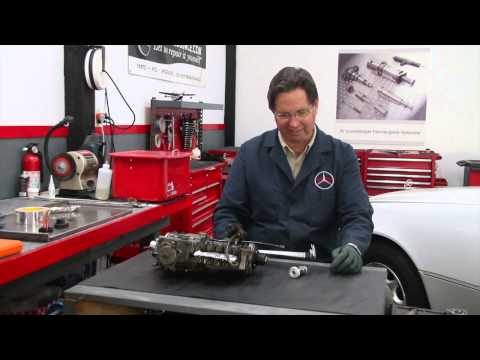 Mercedes Diesel Engine Hand Primer Pump Operation and Replacement