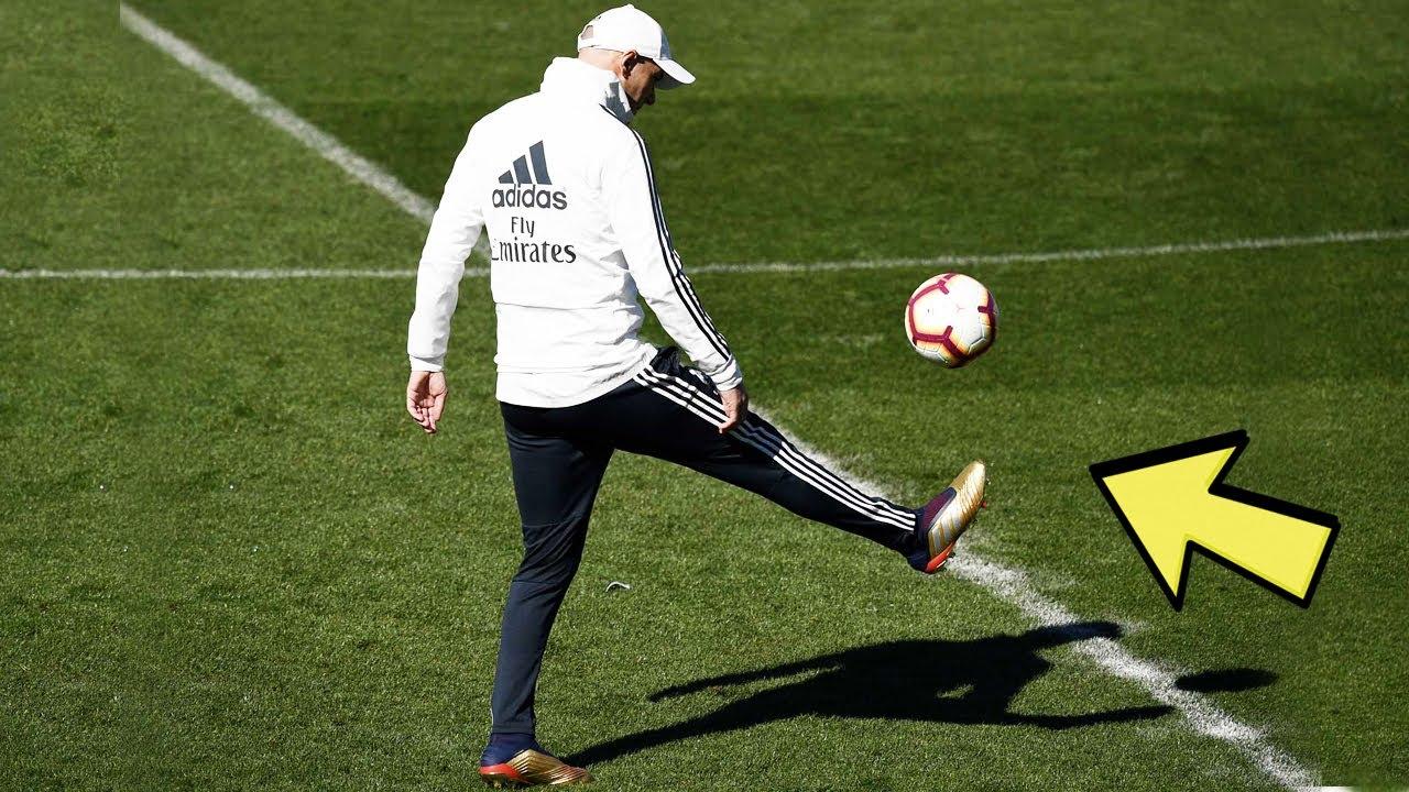 Zidane Crazy Skills & Freestyle in Training