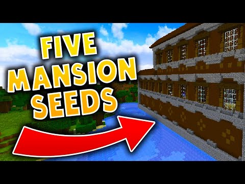 5 MINECRAFT MANSION SEEDS! - Minecraft 1.11.2 Seeds