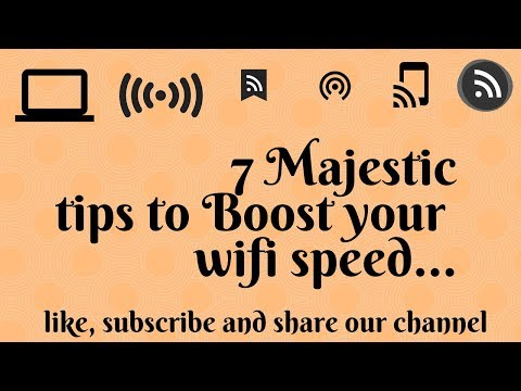 🔧 How to Speed up your Internet! Boost Download Speeds || How To Increase WiFi Speed 10X