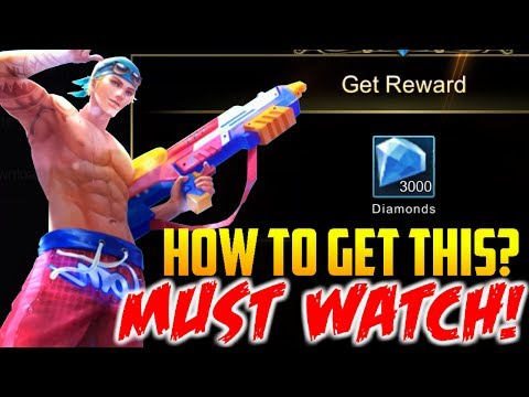 MOBILE LEGENDS HOW TO GET DIAMOND AND FREE SKINS NO HACK!