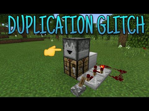 Minecraft (Bedrock) - Duplication Glitch (Almost Any Item)