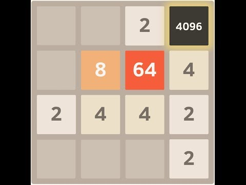 [SOLUTION] How to beat the 2048 Game - (in 4K UltraHD) (up to 4096 tile)