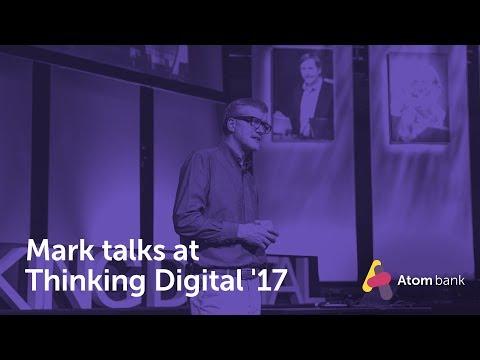 Mark talks at Thinking Digital '17