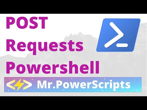 POST Request to RESTful API with Powerhsell !