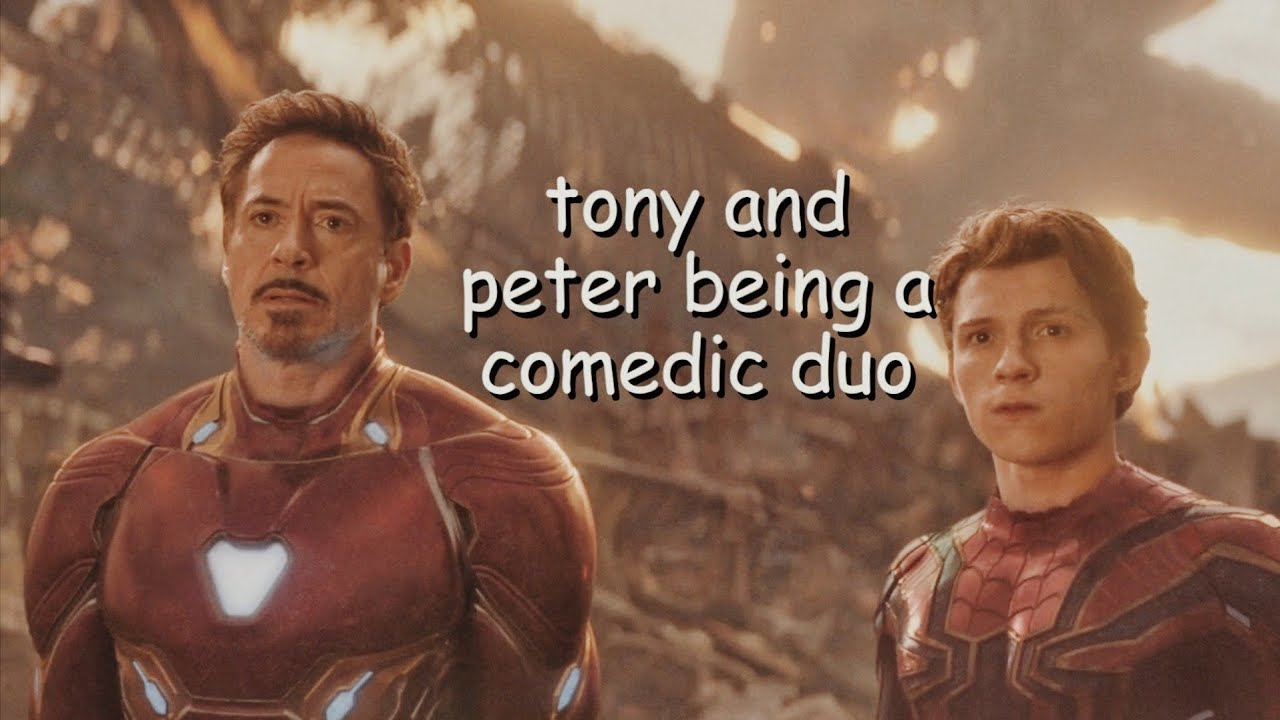 tony and peter being a comedic duo for 4 minutes and 30 seconds straight