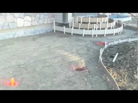 Denver Concrete Contractor Installing Stamped Patio (PART 1) In Colorado