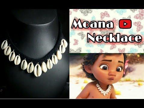 DIY || Moana Necklace || Disney Style