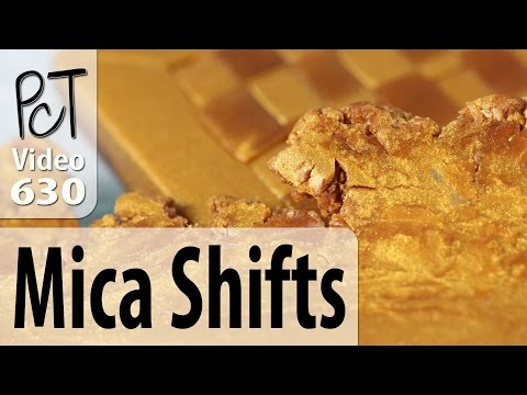 How Mica Shifts Work With Metallic Pearlescent Polymer Clay