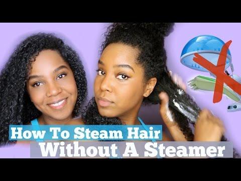 Steam Hair Without Steamer | Increase Hair Growth | Natural Hair