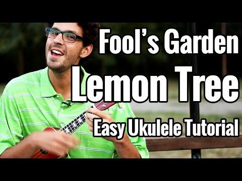 Lemon Tree - Easy Ukulele Tutorial - Fool's Garden Uke Play Along