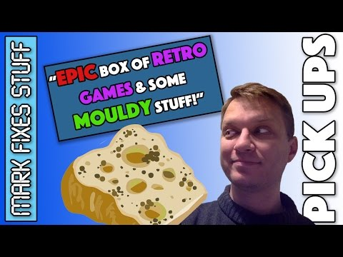 A MAHOOSIVE Retro Games package (and some MOULDY STUFF) from Matthew Owst