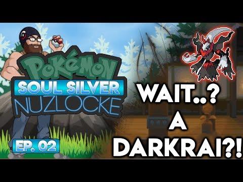 WAIT... A DARKRAI?! - Pokémon Soul Silver Nuzlocke Randomizer w/ Oshikorosu! Part 2!