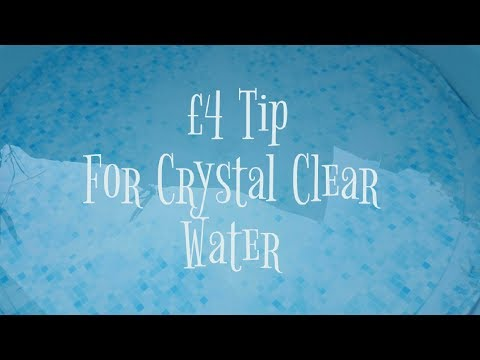 Lay Z Spa / Hot Tub / Jacuzzi / Pool  | How To Get Crystal Clearwater & Remove Small Particles