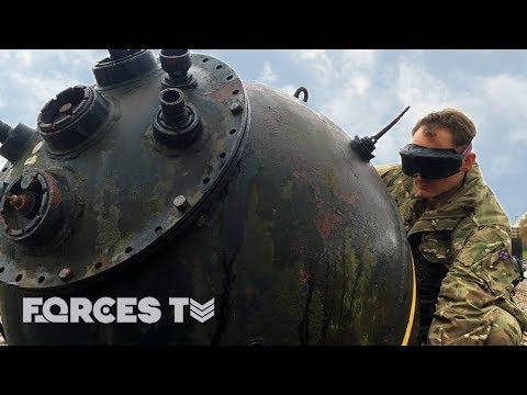 Why Royal Navy Divers Hug Mines... | Forces TV