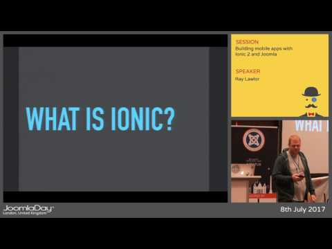 JD17UK - Building mobile apps with Ionic 2 and Joomla