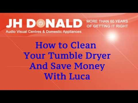 How to clean your tumble dryer filters