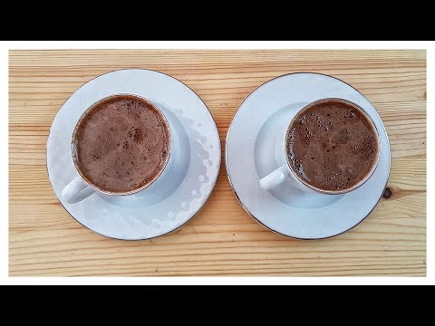 How to Make Delicious Turkish White Coffee | Milk and Coffee