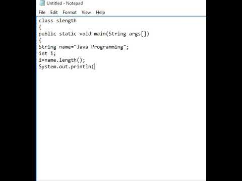 How to Calculate String Length in Java