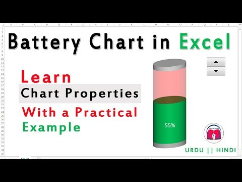 Introduction to Advanced Chart Properties || How To Create BATTERY chart in excel
