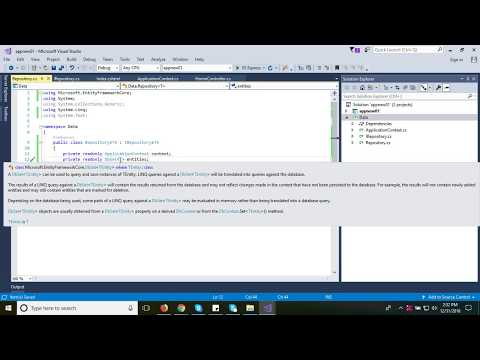 #3 Implementing Generic Repository Pattern - EF Core, ASP.NET MVC CORE