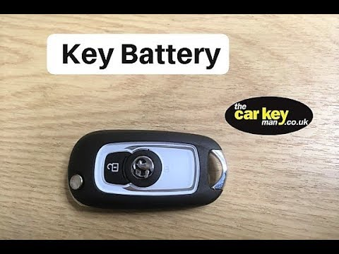 Key Battery Vauxhall Astra K HOW TO