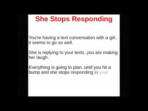 How to Get a Girl to Text You Back - What To Do If She Doesn't Text Back
