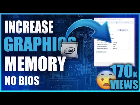 How to increase Intel HD Graphics Dedicated Video Memory[2018}