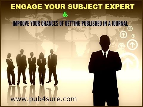 How to get your Research Article PUBLISHED