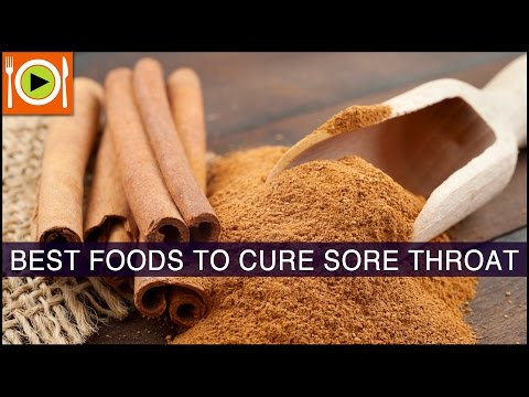 Best Foods To Cure Sore Throat