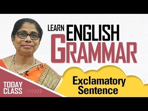 Learn English Grammar | Exclamatory sentence | Basic English Grammar for kids