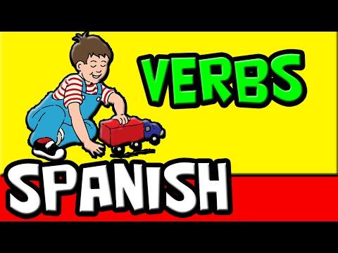 25 Spanish Verbs for Kids | Aprender Verbos | Spanish Language | Speak Spanish Fast | Learn Spanish