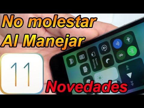 Activar No molestar mientras manejas iOS 11 - iOS 11 Mejores Funciones Parte 4